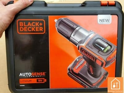 Perceuse sans fil blacketdecker autosense test bricolage facile - Perceuse black et decker 18v ...