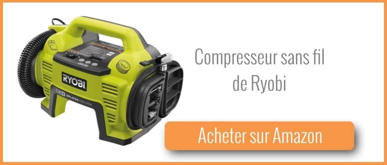 acheter un compresseur sans fil ryobi