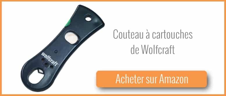 Acheter un couteau à cartouche de wolfcraft