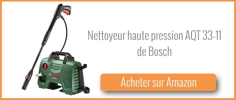test et avis nettoyeur haute pression aqt 33 11 de bosch. Black Bedroom Furniture Sets. Home Design Ideas