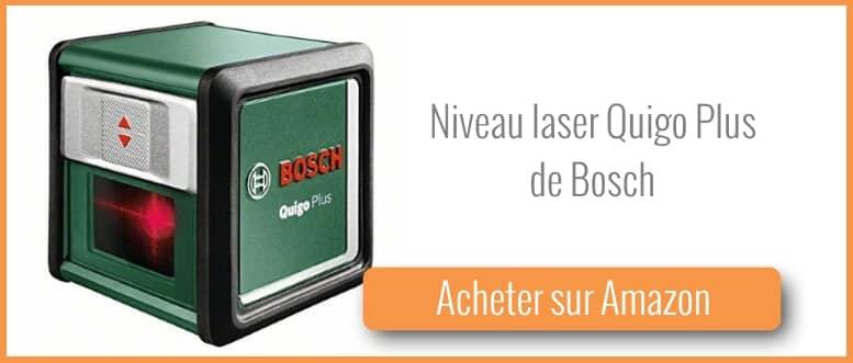 acheter un niveau laser quigo plus de Bosch