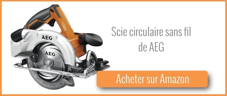 Acheter une scie circulaire sans fil AEG