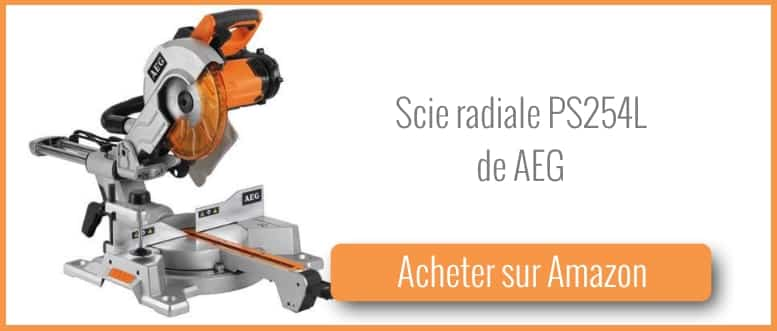 Acheter une scie radiale AEG