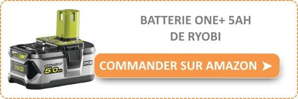 acheter une batterie Ryobi de 5Ah