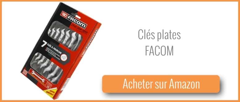 acheter des clés plates Facom