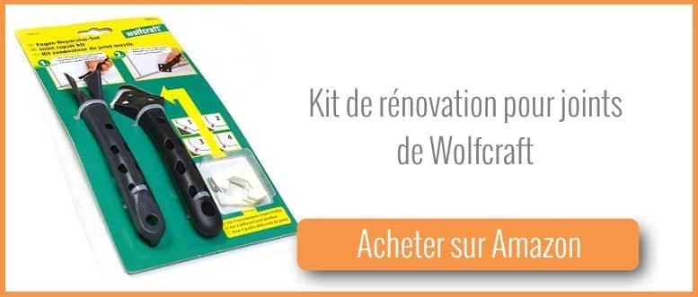 Acheter un kit de rénovation pour joints mastic de Wolfcraft