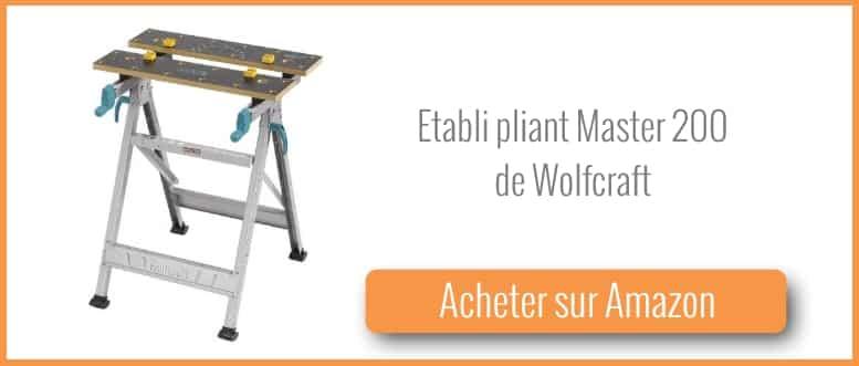 test et avis tabli pliant master 200 de wolfcraft. Black Bedroom Furniture Sets. Home Design Ideas