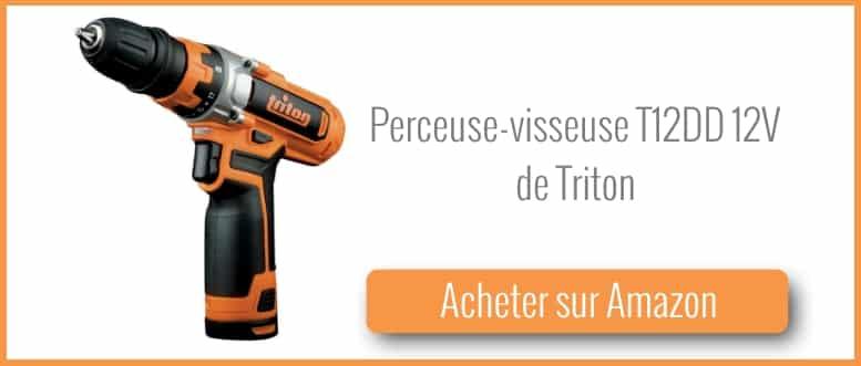 acheter une perceuse visseuse 12v de Triton