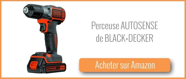 Acheter une perceuse autosense de Black et Decker