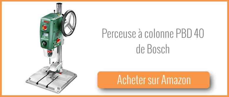 test et avis perceuse colonne pbd 40 de bosch bricolage facile. Black Bedroom Furniture Sets. Home Design Ideas