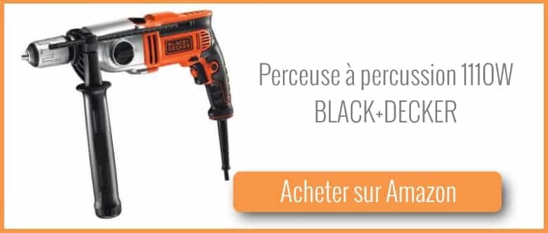 Acheter une perceuse à percussion BLack and Decker