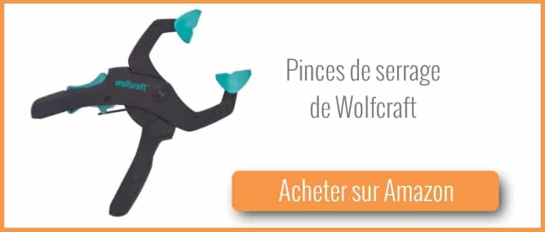Acheter des pinces de serrage Wolfcraft