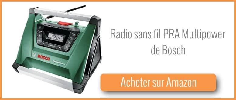 acheter une radio sans fil Bosch