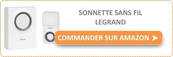 acheter une sonnette sans fil Legrand