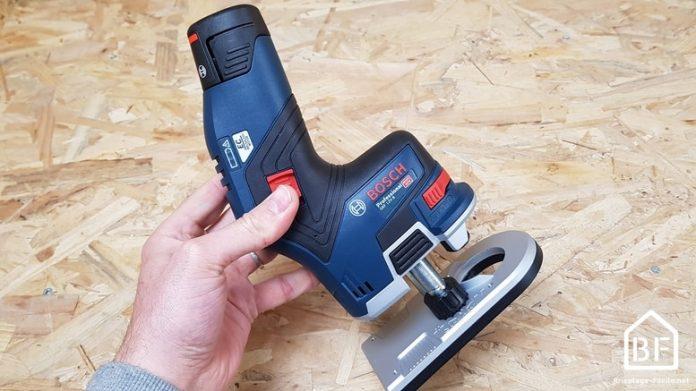 affleureuse sans fil 12V Bosch Professional