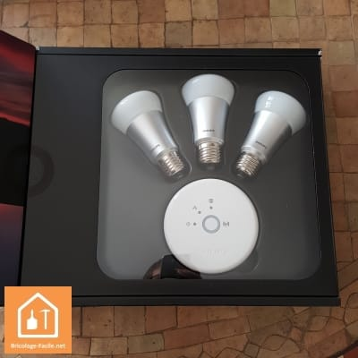 les ampoules connect es philips hue bricolage facile. Black Bedroom Furniture Sets. Home Design Ideas