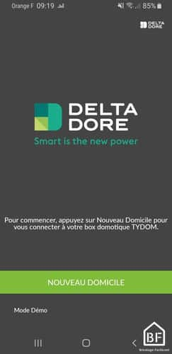 Application Deltadore