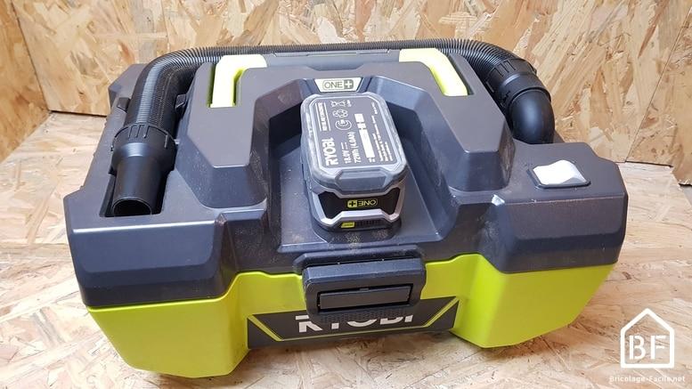 aspirateur sans fil Ryobi R18PV-0 18V