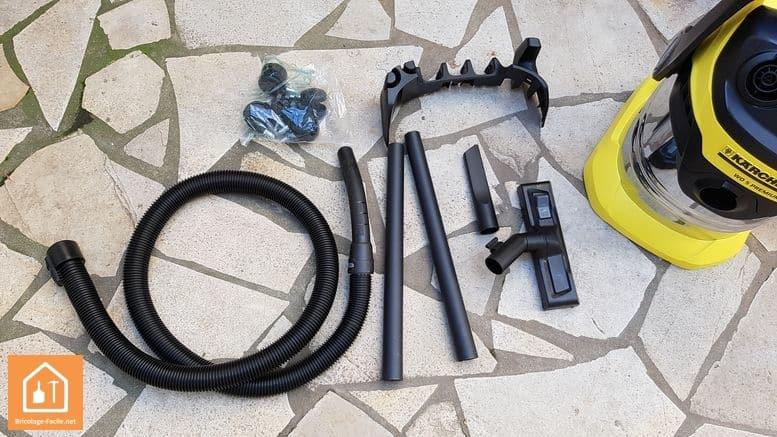 Aspirateur Karcher WD5 - les accessoires