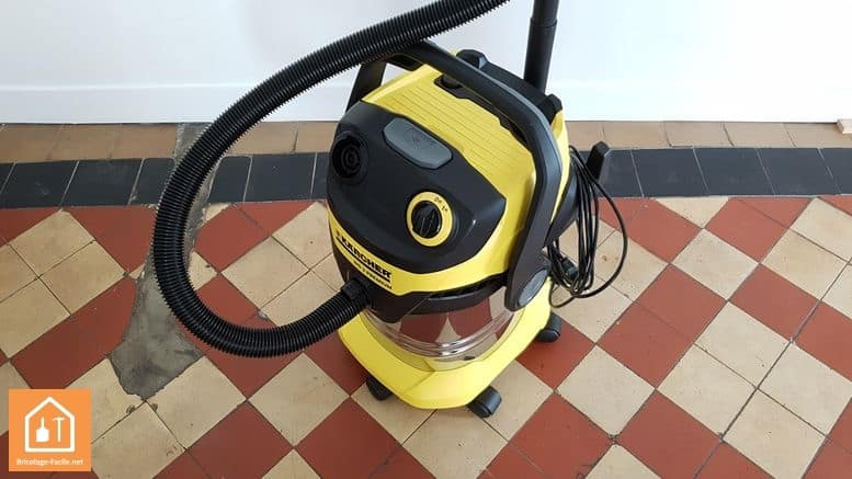 Aspirateur de chantier WD5 de Karcher