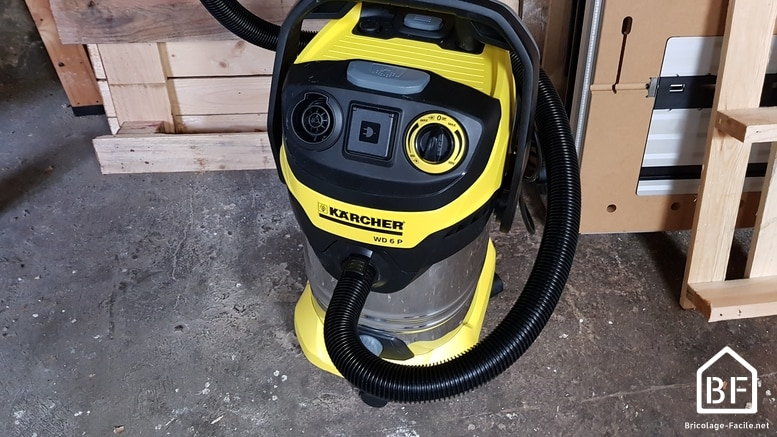 aspirateur karcher wd6 test avis prix accessoires. Black Bedroom Furniture Sets. Home Design Ideas