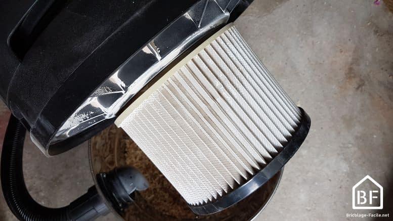astuce filtre aspirateur