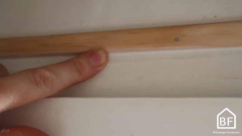 lissage du joint acrylique