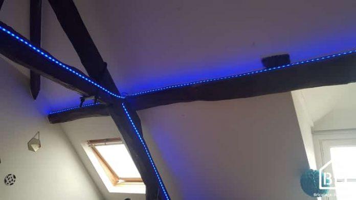 bande LED bleue