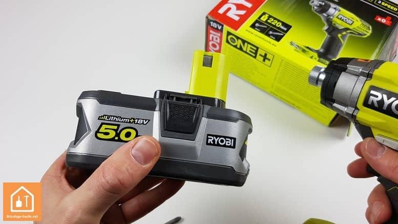 Batterie ONE+ 5Ah de Ryobi