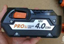 batterie de perceuse sans fil AEG 18V 4Ah