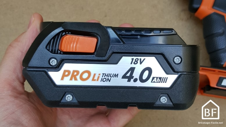 batterie de perceuse sans fil