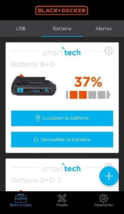 batterie SMART TECH -