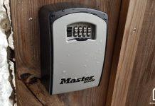 boîte à clés sécurisée masterlock