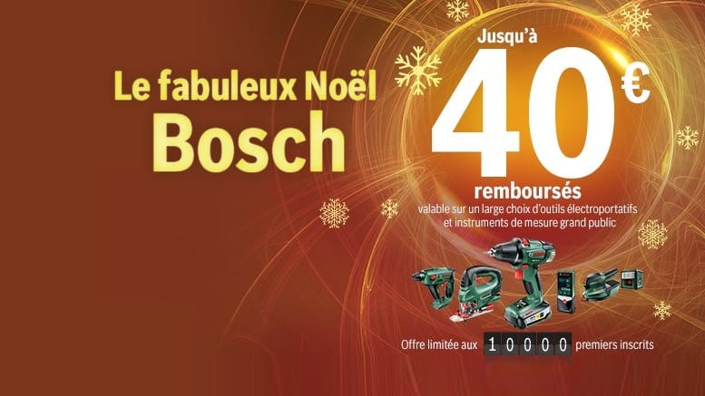 Bon plan Bosch