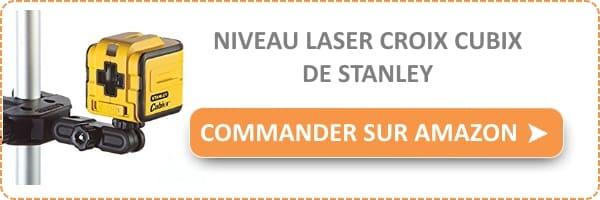 Test et avis niveau laser croix cubix de stanley bricolage facile - Niveau laser croix cubix stanley ...