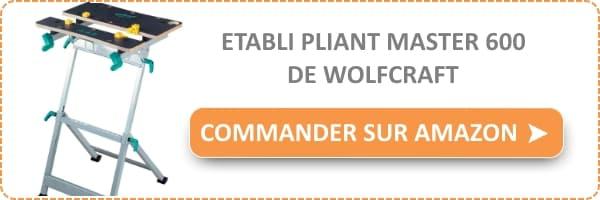 etabli pliant wolfcraft master 600 test avis bricolage facile. Black Bedroom Furniture Sets. Home Design Ideas