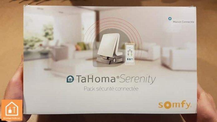 box Tahoma Serenity de Somfy