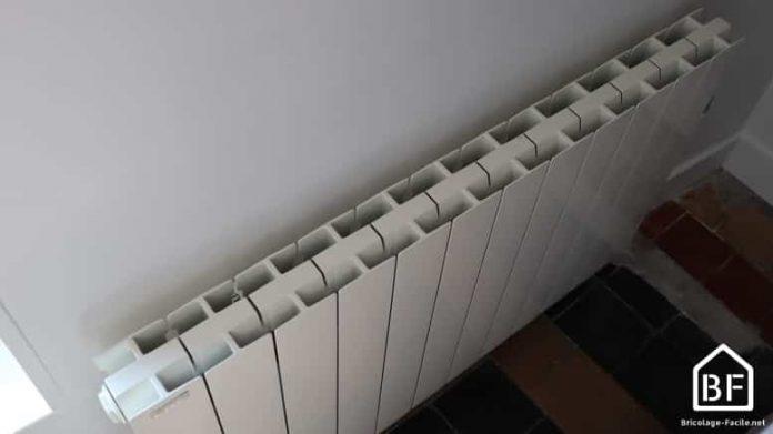 radiateur électrique branché
