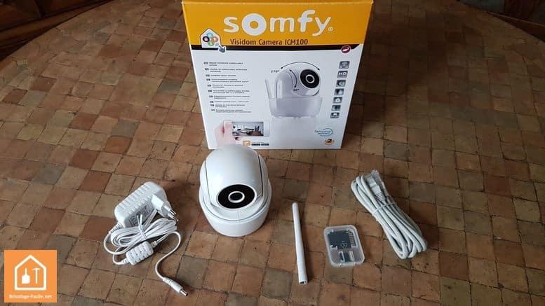 caméras connectées Visidom de Somfy