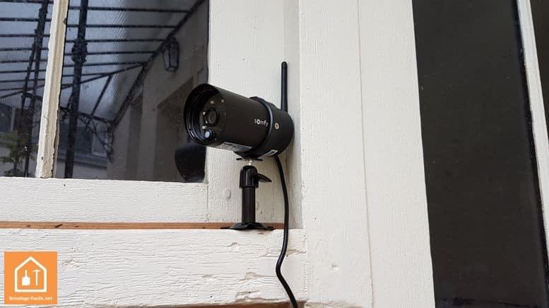 Test et avis cam ras connect es visidom de somfy - Camera exterieure somfy ...