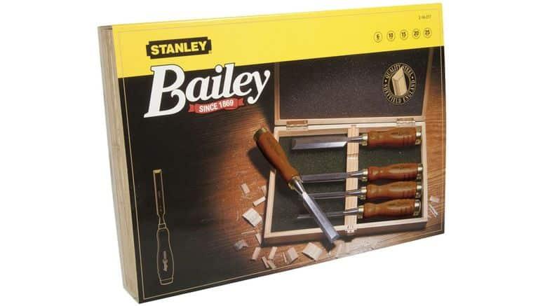 Coftret de ciseaux à bois Stanley
