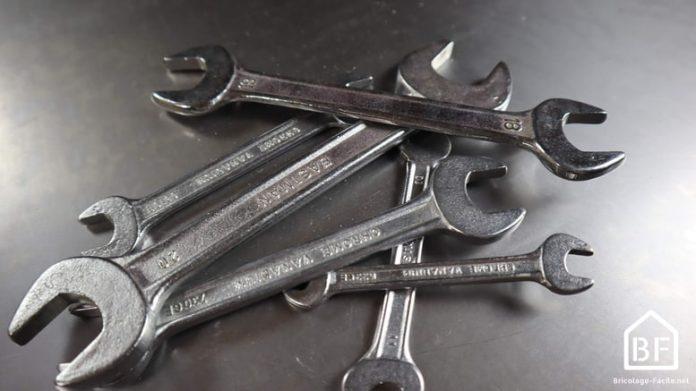 Des clés plates