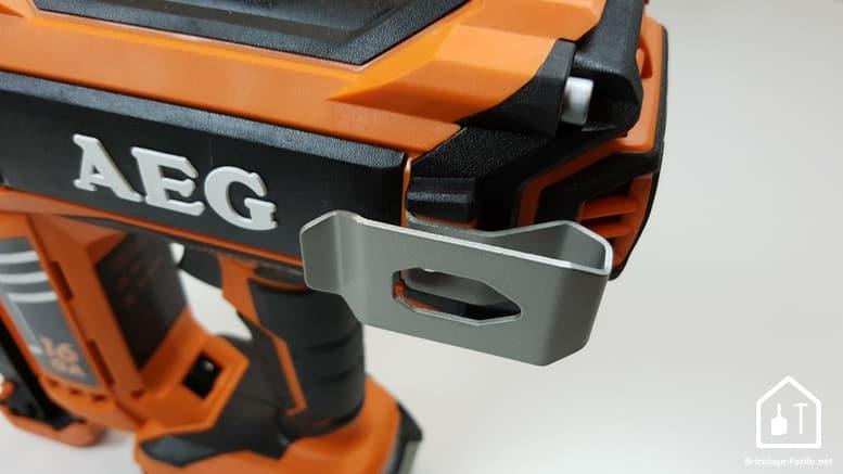 Cloueurs sans fil AEG -clip ceinture