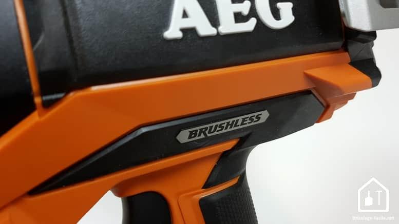 Cloueurs sans fil AEG - moteur Brushless