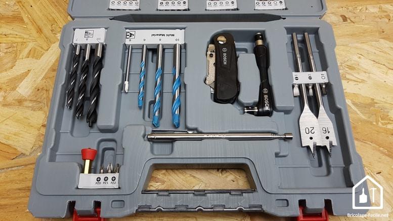 coffret d'accessoires premium Bosch