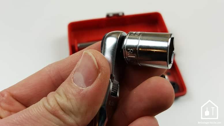 Coffret Cliquet R1 PICO de FACOM - le porte douille