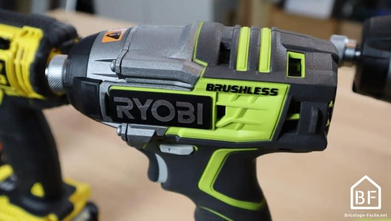 Visseuse à choc Ryobi Brushless