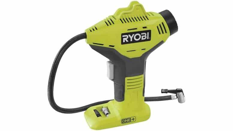compresseur sans fil Ryobi