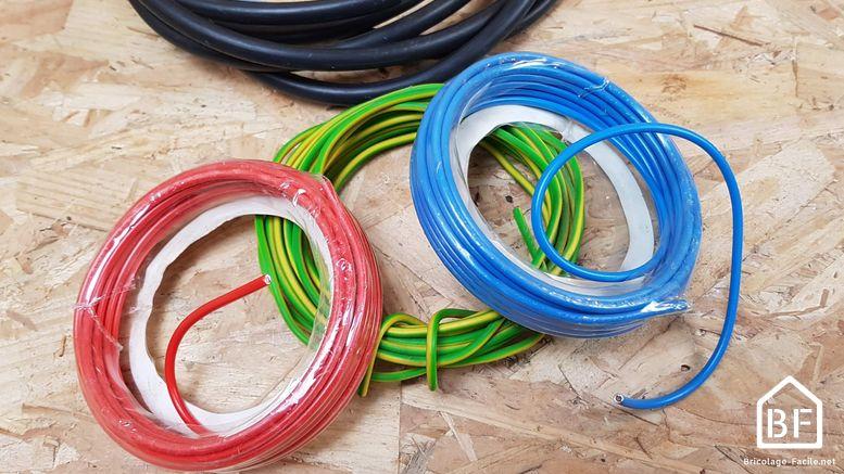 couleur de fils électriques