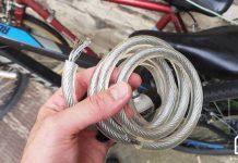 cable antivol coupé